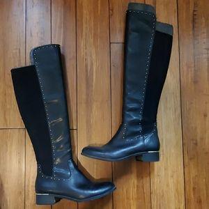 Calvin Klein Cynthia Neoprene Wide Calf Boot
